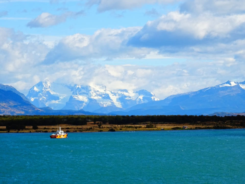 Puerto Natales - you can see what's next in the background.