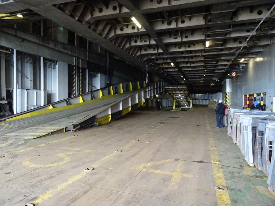inside our ship